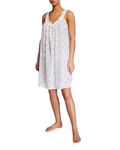 Elaine Sleeveless Babydoll Nightgown