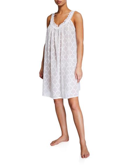 Celestine Elaine Sleeveless Mousseline Babydoll Nightgown