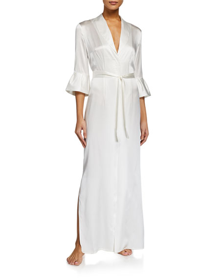 La Perla Exotique Silk Long Robe