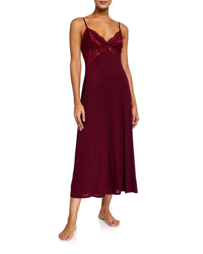 Olivia Lace-Bodice Nightgown