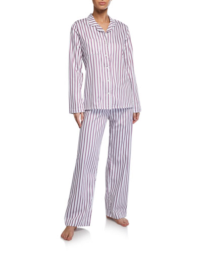 Milly Striped Classic Pajama Set