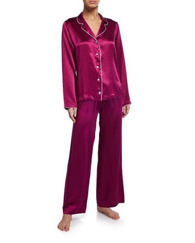 Bailey Classic Silk Pajama Set