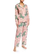 Desmond & Dempsey Caballo Classic Pajama Set
