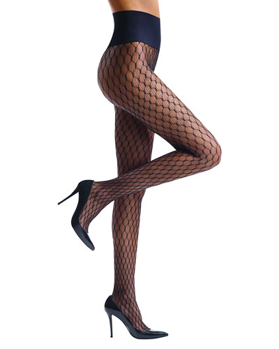 Channel Net Tights