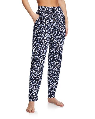 Printed Lounge Knit Pants