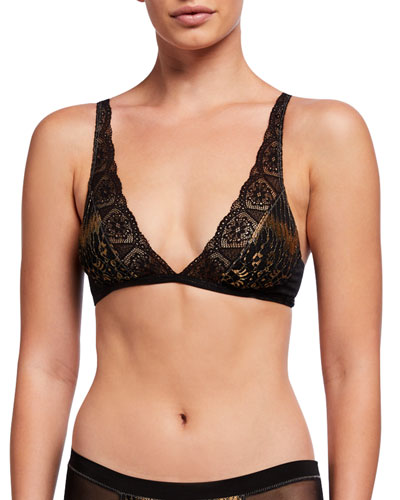 Tatiana Lace Triangle Bra