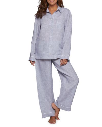 Classic Linen Pajama Set