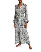Christine Lingerie Arabella Floral-Print Long Robe