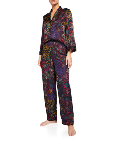 Vintage Floral Classic Pajama Set