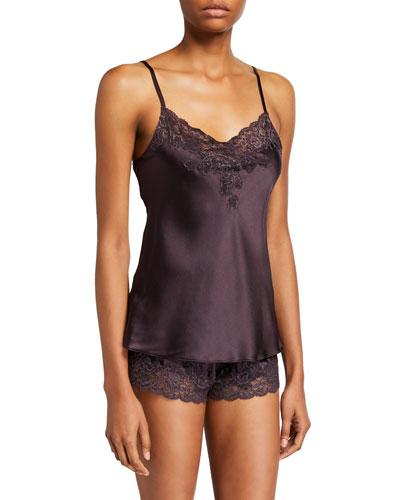 Serenity Short Silk Pajama Set