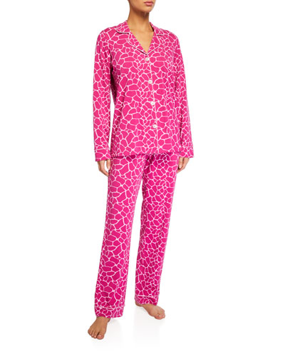 Giraffe Spots Classic Pajama Set