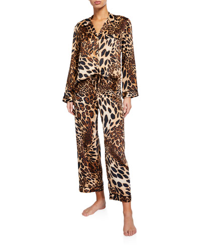 Luxe Leopard Classic Pajama Set