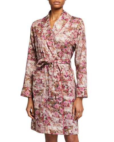 Light Magic Floral-Print Robe