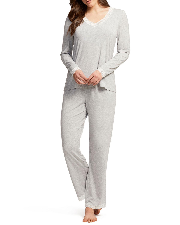 Long-Sleeve Pajama Set