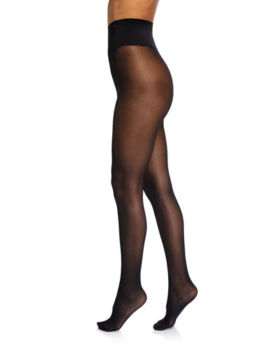 Luxe Opaque Waist-Smoothing Tights