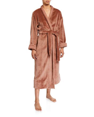 Whitney Plush Long Robe