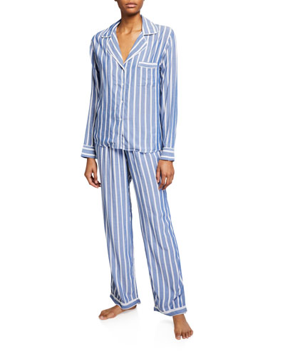 Clara Classic Striped Pajama Set