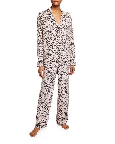 Clara Classic Leopard Pajama Set