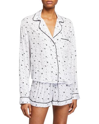 Kellen Shortie Space Pajama Set