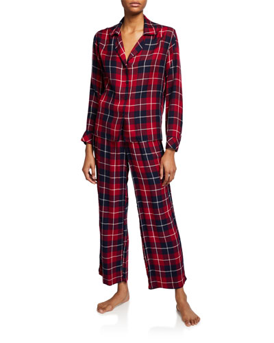 Clara Plaid Classic Pajama Set