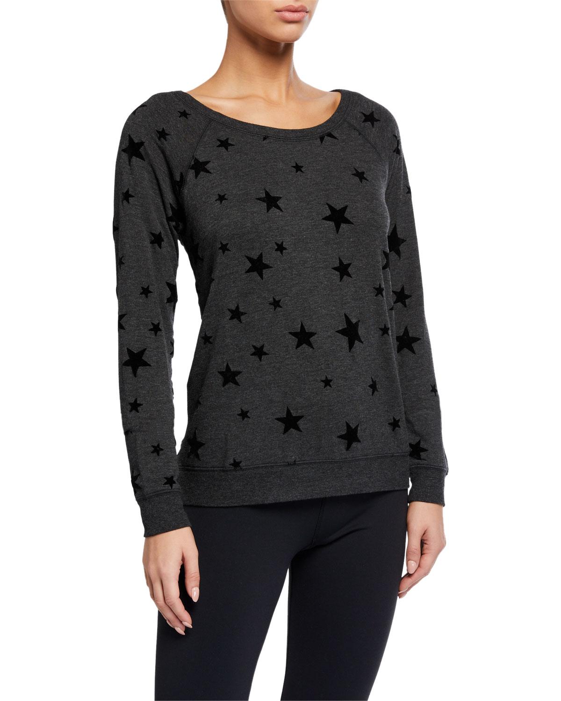 Pj Salvage T-shirts NIGHT SKY STAR-PATTERN LOUNGE SHIRT