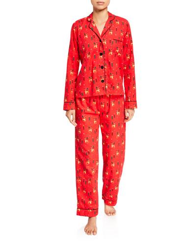 Oh Deer Classic Pajama Set