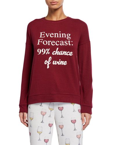 Evening Forecast: 99% chance of wine Lounge Top