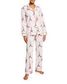 Bedhead Eiffel Tower Classic Pajama Set