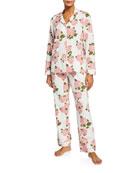 BedHead Pajamas Plus Size Floral Classic Pajama Set