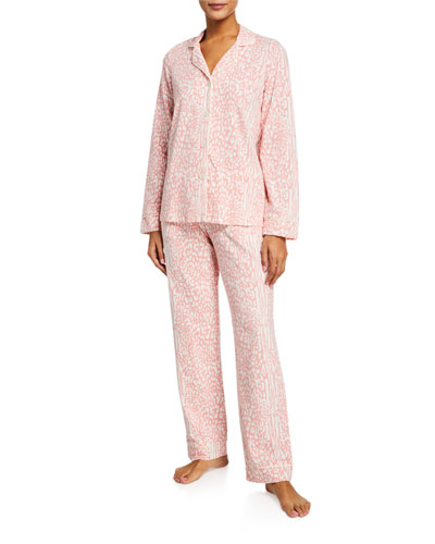 Plus Size Floral Classic Pajama Set