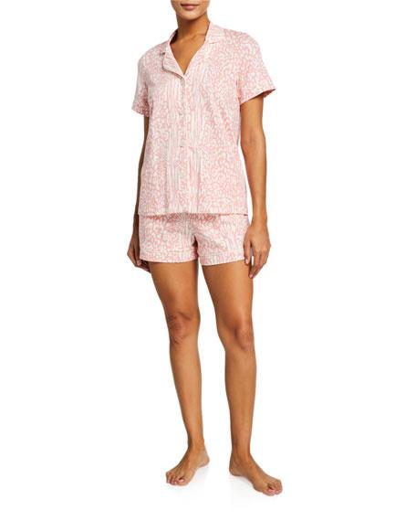 BedHead Pajamas Leopard-Print Shortie Pajama Set