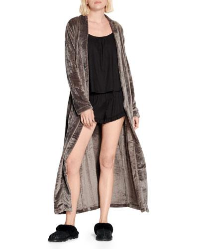 Marlow Long Velour Robe