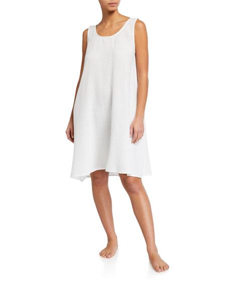 Pour Les Femmes Long Gauze Tank Night Dress