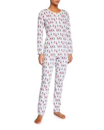 Gnoels Gnomes Pajama Set