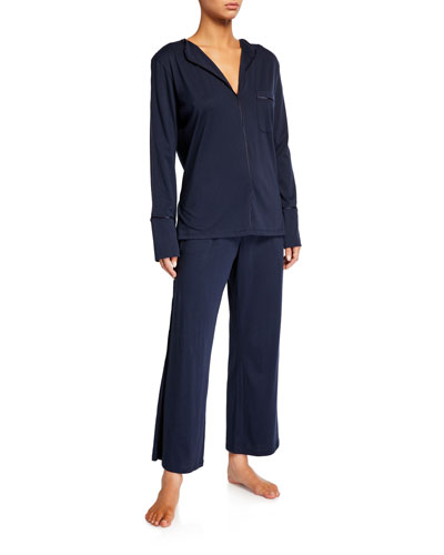 Ondrea Jersey Pajama Set