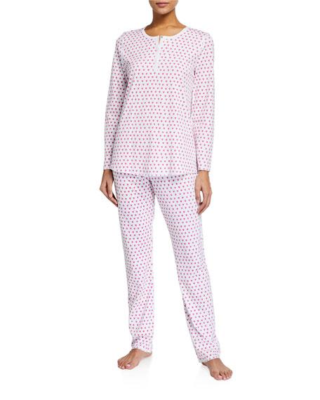 Roller Rabbit Hearts Two-Piece Pajama Set