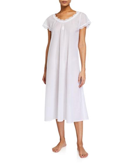 Celestine Pina Short-Sleeve Nightgown