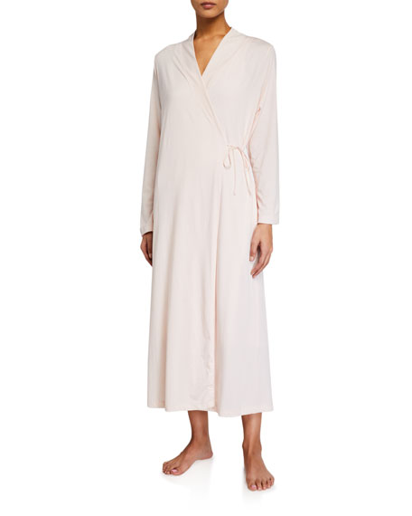 Skin Orna Long Wrap Robe