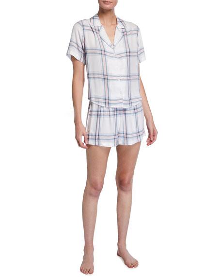 Rails Darcie Plaid Short Pajama Set