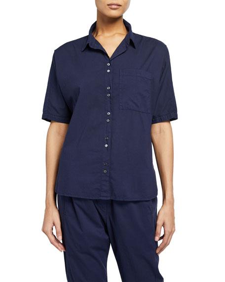 Xirena Jaylen Short-Sleeve Lounge Shirt