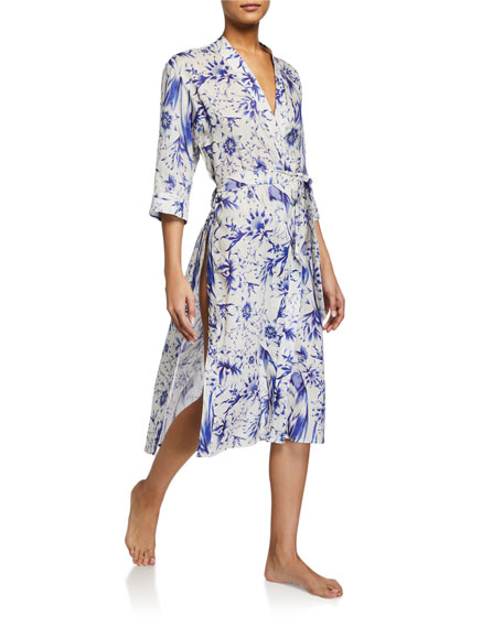 The Lazy Poet Sophie Tropical Paradise Robe