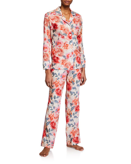 The Lazy Poet Emma Blooming Dream Long Pajama Set