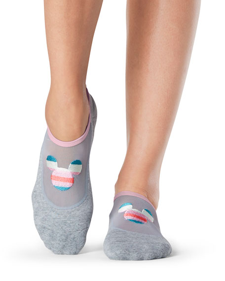 ToeSox Maddie Magic Mickey Mouse Grip Socks