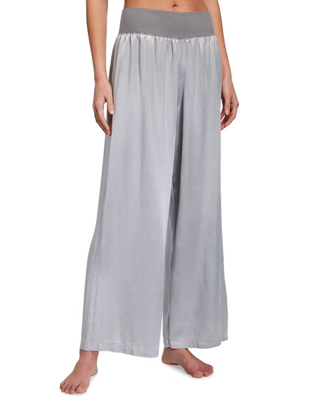 PJ Harlow Lola Satin Lounge Pants