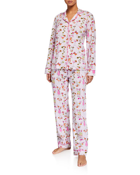 BedHead Pajamas Umbrella Drinks Classic Pajama Set