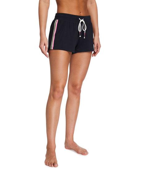 PJ Salvage Black Out Side-Stripe Shorts