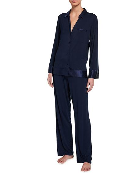 Josie Natori Noth Jersey Essentials Modal Jersey Pajama Set