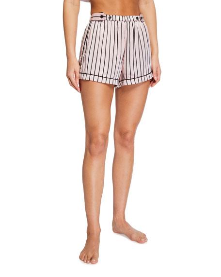Morgan Lane Fiona Striped Lounge Shorts