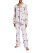 BedHead Pajamas New York Minute Classic Long-Sleeve Pajama