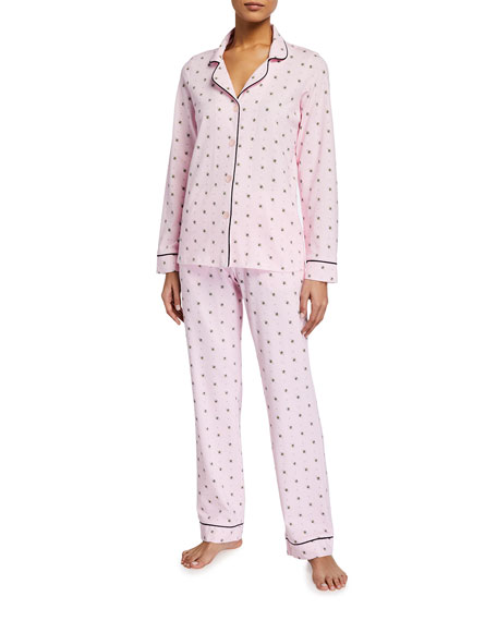 BedHead Pajamas Plus Size Long-Sleeve Printed Pajama Set